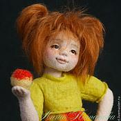 Куклы и игрушки ручной работы. Ярмарка Мастеров - ручная работа Авторская войлочная кукла Наташка. Handmade.
