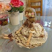 Куклы и игрушки ручной работы. Ярмарка Мастеров - ручная работа Фея утреннего кофе с молоком. Handmade.