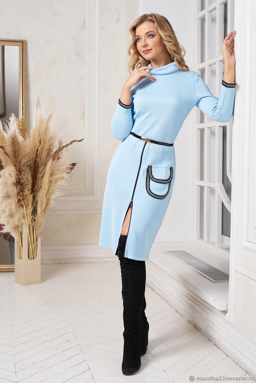 Dress 'Dynamic image' blue, Dresses, St. Petersburg,  Фото №1