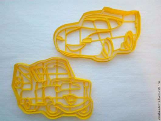 Кухня ручной работы. Ярмарка Мастеров - ручная работа. Купить Тачки (персонажи) - вырубка для печенья, пряников, мастики. Handmade. Комбинированный
