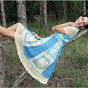 """Одежда ручной работы. Ярмарка Мастеров - ручная работа Платье """"Лоскутки"""". Handmade."""