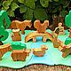 Развивающие игрушки ручной работы. Набор домашних животных на лугу. FamilyPuzzle (Slava77). Ярмарка Мастеров. Набор домашних животных
