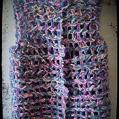 """Одежда ручной работы. Ярмарка Мастеров - ручная работа Жилет """"первоцвет"""". Handmade."""