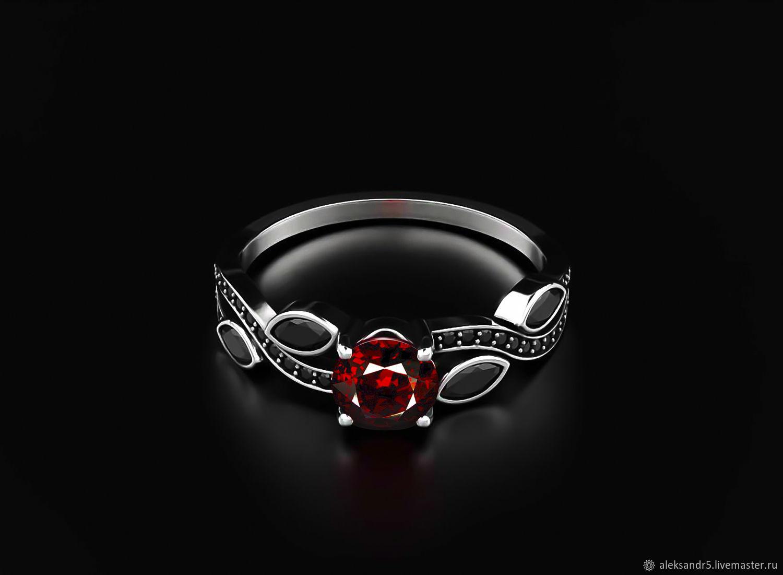 Ring: Garnet ring, Rings, Tolyatti,  Фото №1