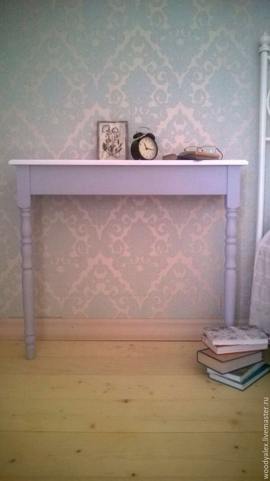 Мебель ручной работы. Ярмарка Мастеров - ручная работа. Купить Консольный стол серый. Handmade. Консоль, туалетный столик