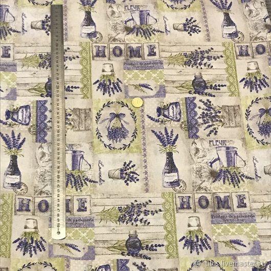 Ткань декоративная Лавандовые композиции Испания – купить на Ярмарке Мастеров – MOHB0RU | Ткани, Москва