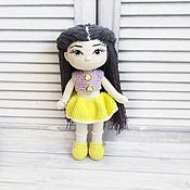 Куклы Тильда ручной работы. Ярмарка Мастеров - ручная работа Вязаная куколка. Handmade.