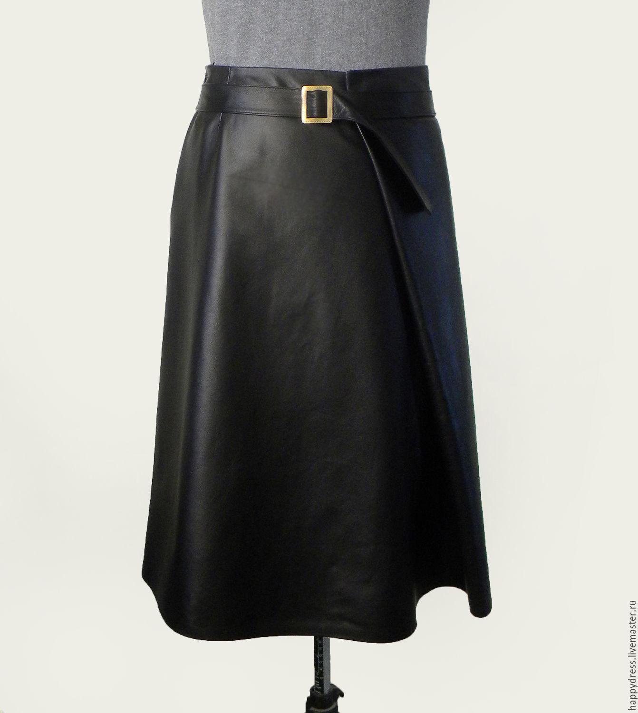 Заказать кожаную юбку