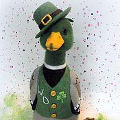 Куклы и игрушки ручной работы. Ярмарка Мастеров - ручная работа Ирландский Cелезень Wild Duck(утка). Handmade.