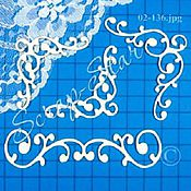 Материалы для творчества handmade. Livemaster - original item chipboard pattern 02-136. Handmade.