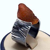 Украшения handmade. Livemaster - original item Silver 925 ring with carnelian Hood. Handmade.