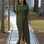 Одежда handmade. Livemaster - original item Cashmere scented dress 100% Irish moss handmade. Handmade.