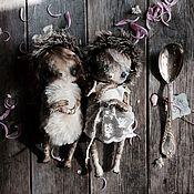 Куклы и игрушки ручной работы. Ярмарка Мастеров - ручная работа Ёжички. Handmade.