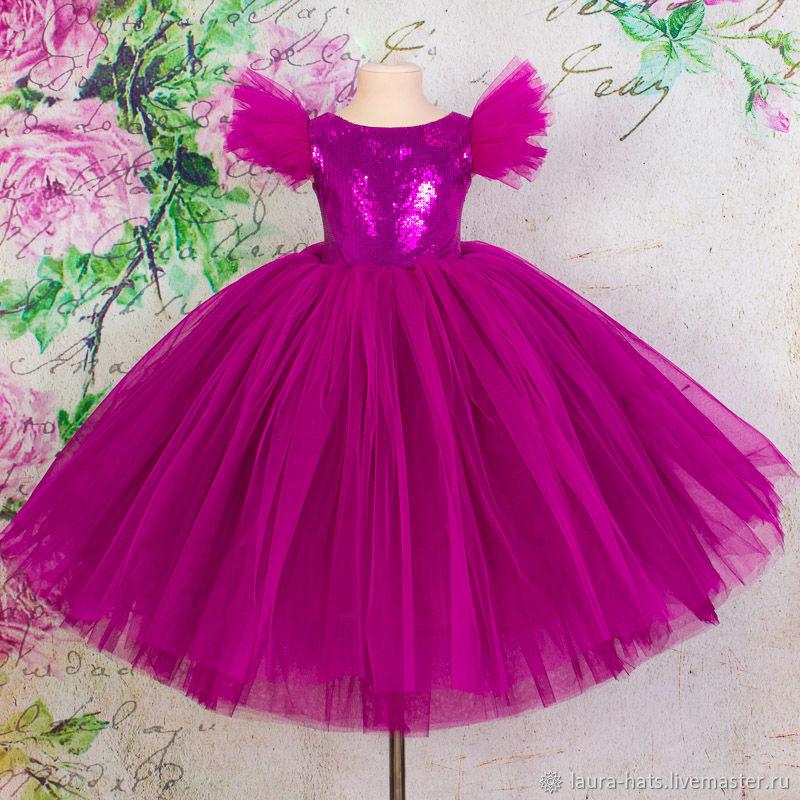 Нарядное платье для девочки Детское бальное платье Платье для девочки