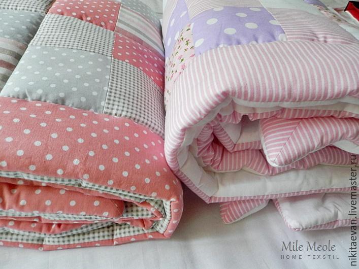 Одеяло пэчворк для ребенка