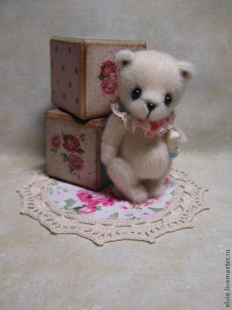 """Мишки Тедди ручной работы. Ярмарка Мастеров - ручная работа. Купить Мишка """" Белый шоколад"""". Handmade. Бежевый"""