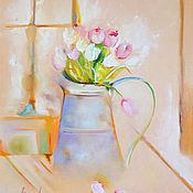 Картины и панно handmade. Livemaster - original item Oil painting Morning. Handmade.