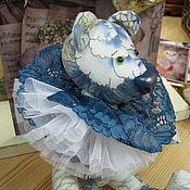 """Куклы и игрушки ручной работы. Ярмарка Мастеров - ручная работа Мишка""""зимние узоры"""". Handmade."""