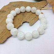 Украшения handmade. Livemaster - original item The bracelet moonstone Ice light. Handmade.