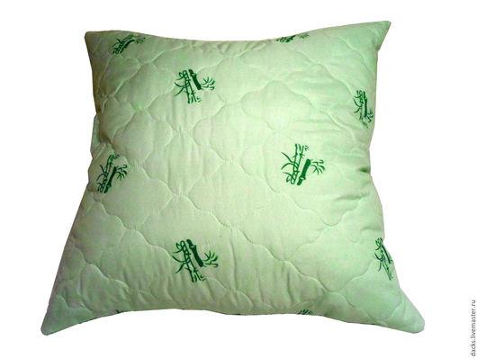 Текстиль, ковры ручной работы. Ярмарка Мастеров - ручная работа. Купить Подушка Бамбук 70 см на 70 см. Handmade.