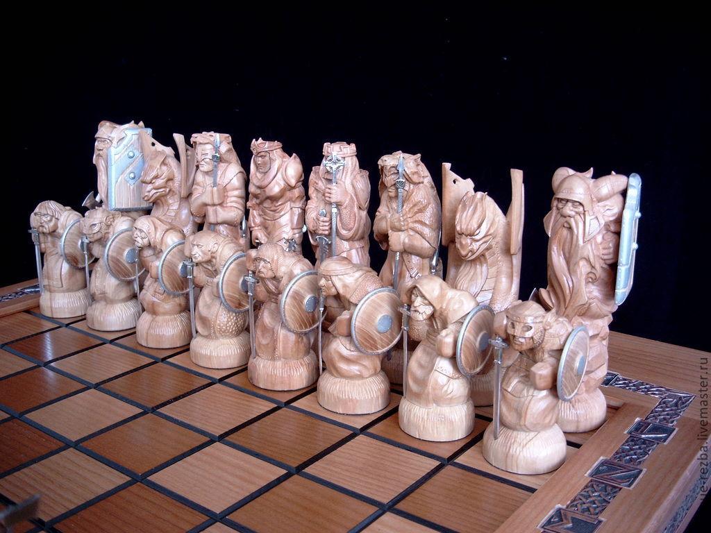 того, этот резные шахматы из дерева фото оттенок топленое молоко