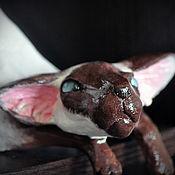 Куклы и игрушки handmade. Livemaster - original item Vinnie, Siamese cat. Handmade.