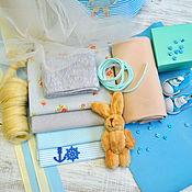 Материалы для творчества ручной работы. Ярмарка Мастеров - ручная работа Набор для шитья куклы с выкройкой № 12. Handmade.