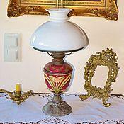 Винтаж handmade. Livemaster - original item Kerosene table lamp.Majolica.. Handmade.