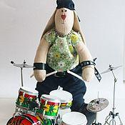 Куклы и игрушки handmade. Livemaster - original item Rabbit rocker. Handmade.