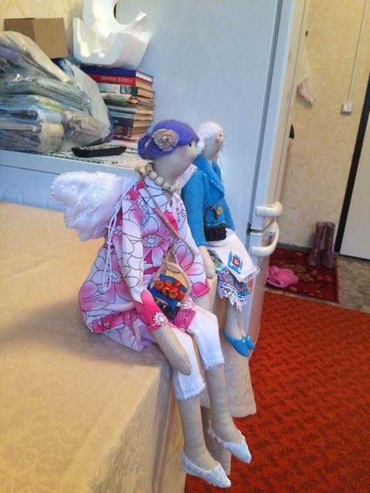 Куклы Тильды ручной работы. Ярмарка Мастеров - ручная работа. Купить Куколка Тильда фея. Handmade. Кукла в подарок, настроение