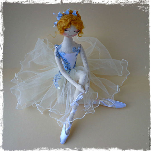 Коллекционные куклы ручной работы. Ярмарка Мастеров - ручная работа. Купить Интерьерные куклы. Handmade. Комбинированный, бязь тонированная, кружево