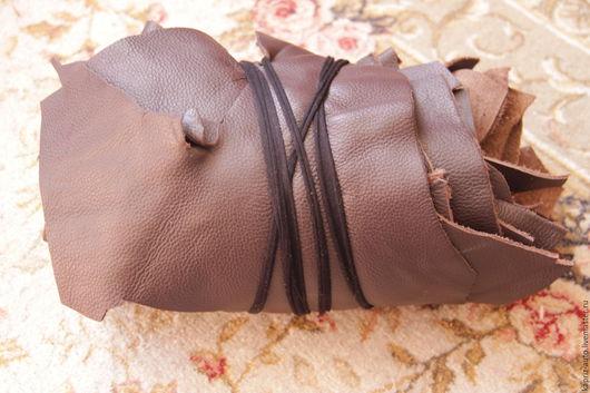 Шитье ручной работы. Ярмарка Мастеров - ручная работа. Купить №165.Коричневая.2мм.1.7кг. Натуральная кожа. Handmade.