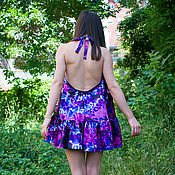 Одежда handmade. Livemaster - original item Short summer dress -
