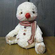"""Куклы и игрушки ручной работы. Ярмарка Мастеров - ручная работа Снеговичок в стиле """"тедди"""". Handmade."""