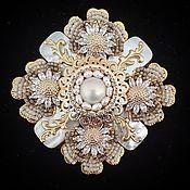 Украшения handmade. Livemaster - original item Brooch / pendant large.. Handmade.