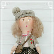 Куклы и игрушки ручной работы. Ярмарка Мастеров - ручная работа Софи. Дети на прогулке. Handmade.
