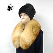 Аксессуары handmade. Livemaster - original item Fur collar boa of red Fox. TK-489. Handmade.