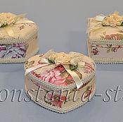 Подарки к праздникам ручной работы. Ярмарка Мастеров - ручная работа Шкатулки для  хранения украшений. Handmade.