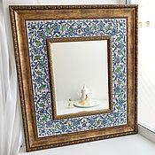 Для дома и интерьера handmade. Livemaster - original item Mirror painting Eastern mirror 2. Handmade.