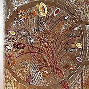 Для дома и интерьера ручной работы. Ярмарка Мастеров - ручная работа Волшебное дерево - стеклянное панно техника фьюзинг. Handmade.