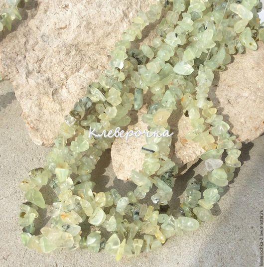 Для украшений ручной работы. Ярмарка Мастеров - ручная работа. Купить .Пренит нить 40 см каменная крошка бусины для украшений. Handmade.