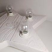 Для дома и интерьера ручной работы. Ярмарка Мастеров - ручная работа Звезда светильник White. Handmade.