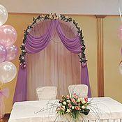 Свадебный салон ручной работы. Ярмарка Мастеров - ручная работа Свадебная арка. Handmade.