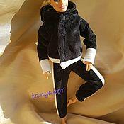 Одежда для кукол ручной работы. Ярмарка Мастеров - ручная работа Спортивный костюм  для Барби. Handmade.
