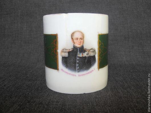 Винтажная посуда. Ярмарка Мастеров - ручная работа. Купить 19 век. Император Александр I.Антикварная кофейная чашка. Handmade.