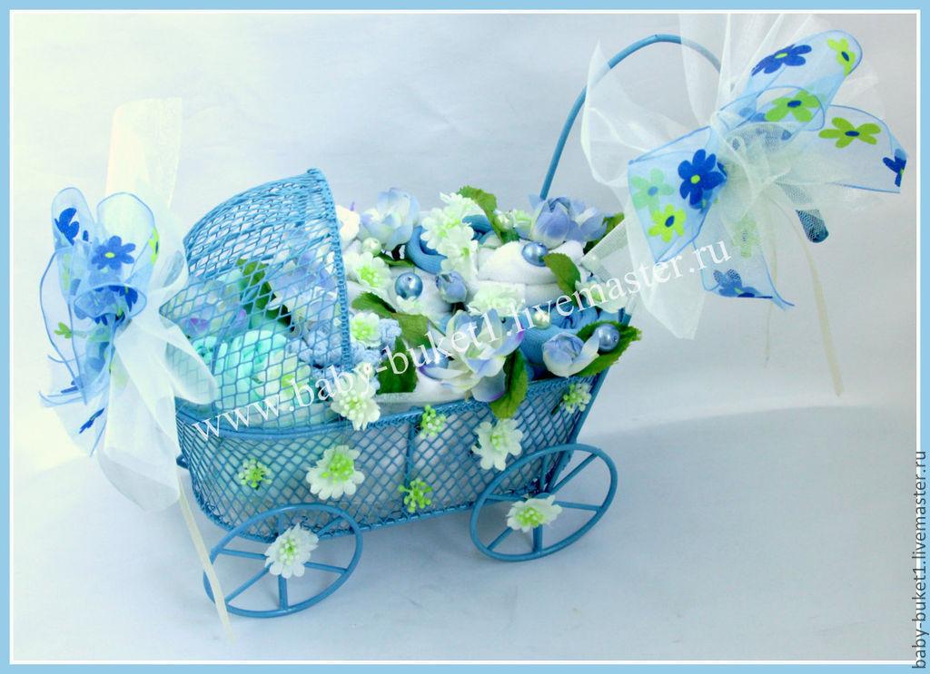 Бэби-букет подарок для новорожденного, букеты цветы дню