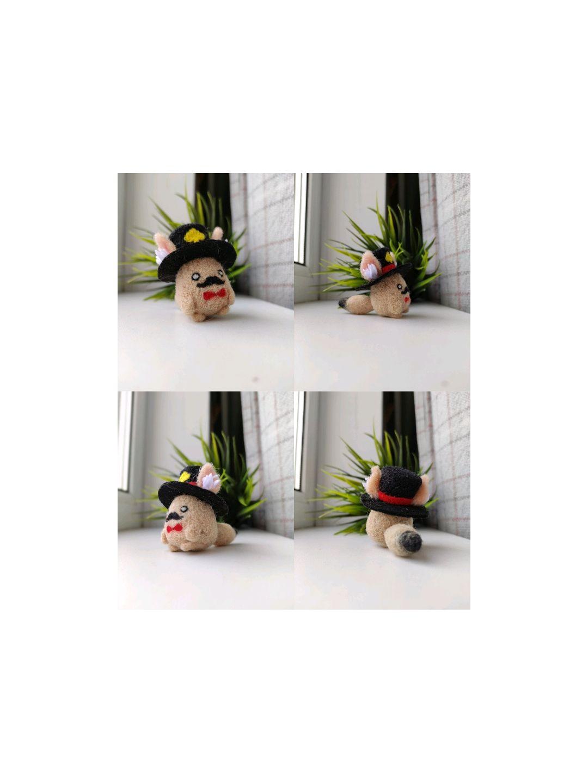Аниме игрушка японская ручной работы, Войлочная игрушка, Екатеринбург,  Фото №1