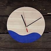 Для дома и интерьера ручной работы. Ярмарка Мастеров - ручная работа Настенные деревянные часы.. Handmade.