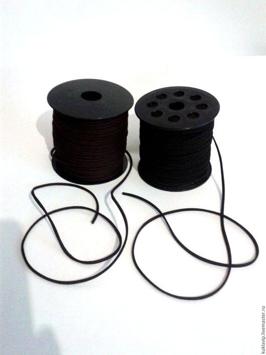 Замшевые шнуры.Шнур для кулона.Шнур замшевый для подвески.Валяем вместе.Москва.