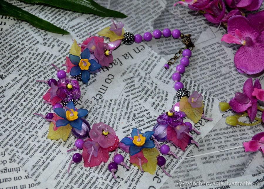Jewelry set for girls 'Flower mix', Jewelry Sets, Kolomna,  Фото №1